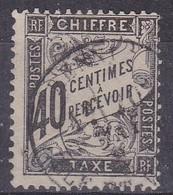 France, Taxes - Yvert N° 19 Oblitéré - Cote 70 € - 1859-1955 Used