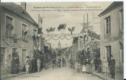 AUTHON DU PERCHE - Inauguration De L' éclairage De La Ville - Autres Communes