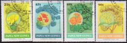 PAPUA NEW GUINEA 1992 SG #675-78 Compl.set. Used Flowering Trees - Papua New Guinea