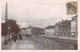 "M07982 "" København-Holmes Kanal "" ANIMATA-CARTOLINA POSTALE ORIGINALE SPEDITA 1909 - Danimarca"