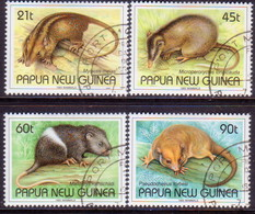 PAPUA NEW GUINEA 1993 SG #679-82 Compl.set. Used Mammals - Papua New Guinea