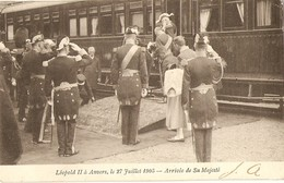 ANVERS  ---  Léopold II à Anvers, Le 27 Juillet 1905 - Arrivée De Sa Majesté - Antwerpen