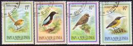 PAPUA NEW GUINEA 1993 SG #683-86 Compl.set. Used Small Birds - Papua New Guinea