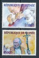 °°° GUINEA GUINEE - VISITA DI GIOVANNI PAOLO II - 2004 MNH °°° - Guinea (1958-...)