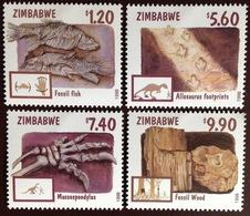 Zimbabwe 1998 Fossils MNH - Zimbabwe (1980-...)