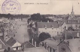 CACHET  COMPAGNIE DE TRAVAILLEURS FORESTIERS   RECTO VERSO SUR CP DE  MONTARGIS - Guerre 1914-18