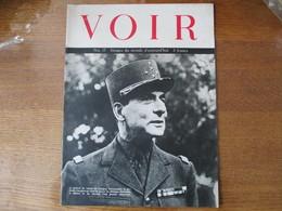 VOIR N°17 IMAGES DU MONDE D'AUJOURD'HUI LE GENERAL DE LATTRE DE TASSIGNY COMMANDANT DE LA 1ére ARMEE FRANCAISE QUI VIENT - Revues & Journaux
