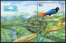 PAPUA NEW GUINEA 1993 SG #695 M/s Used Bangkok '93 - Papua New Guinea