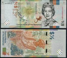 BAHAMAS LOW# A00---- NLP 1/2 DOLLAR 2019 UNC. - Bahamas