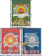 People's Republic Of Cina 4252-4254 (completa Edizione) Usato 2011 Liberazione Tibets - Gebruikt