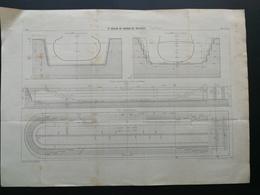 ANNALES DES PONTS Et CHAUSSEES (Dep 83) - 3e Bassin De Radoub De Missiessy - Imp L. Courtier - 1899 (CLD30) - Travaux Publics