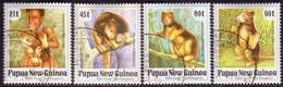 PAPUA NEW GUINEA 1994 SG #700-03 Compl.set Used Matschie's Tree Kangaroo - Papua New Guinea