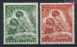 Berlin (West) 80-81 (complète.Edition.) Neuf Avec Gomme Originale 1951 Jour Le Timbre (9305198 (9305198 - Unused Stamps