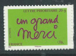 "France Autoadhésifs N° 205 XX Timbre De Message : ""un Grand Merci""  Sans Charnière, TB - KlebeBriefmarken"