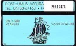 Telefoonkaart  LANDIS&GYR  NEDERLAND * RCZ.283.1   247a * Posthumus Assurantiën  * TK * ONGEBRUIKT * MINT - Pays-Bas