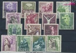 Espagne 1355-1369 (complète.Edition.) Neuf Avec Gomme Originale 1962 Rosaire (9304807 (9304807 - 1961-70 Nuovi