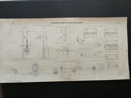 ANNALES DES PONTS Et CHAUSSEES - Installations électriques Aux écluses De Port-à-l'anglais - Imp A. Gentil 1909 (CLD31) - Travaux Publics