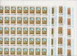 Vatican City 1979 S. Stanislas 4v Complete Sheetlets With Full Margins (shtlt Is 1x Folded) ** Mnh (F7720) - Ongebruikt