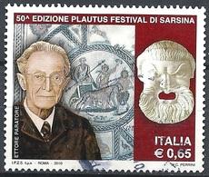 Italia, 2010 Plautus Festival, 0.65 € # Sassone 3186 - Michel 3396 - Scott 3015 USATO - 6. 1946-.. República