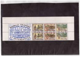 815  -  NOUVELLE CALEDONIE ET DEP. -  .  STRISCIA USATA  CAT. MICHEL Nr. 710/712 - Nuova Caledonia