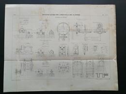 ANNALES DES PONTS Et CHAUSSEES - Installation électrique Pour L'alimentation - Imp L. Courtier 1898 (CLD32) - Travaux Publics