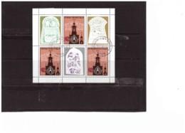 844  -  BULGARIA    - BLOCCO FOGLIETTO    USATO -   STOCKHOLMIA 86 - Esposizioni Filateliche