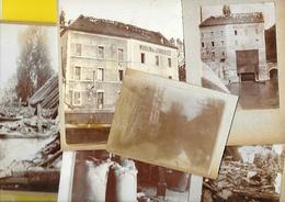 Rare SAINT MAURICE (94) Moulin De La Chaussée Aprés Incendie 190? - Saint Maurice