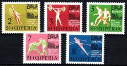 Albania Nº 641/45 En Nuevo - Albania