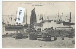 GUILVINEC (29) - Aspect Des Quais Pendant La Pêche Aux Maquereaux   -   (tirage 1900) - Guilvinec