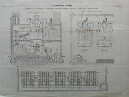 ANNALES DES PONTS Et CHAUSSEES - Les Tramways Aux états-unis - Imp. L Courier 1896 (CLD34) - Travaux Publics