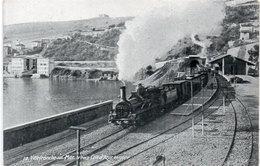 VILLEFRANCHE SUR MER - Le Train Cote D' Azur En Gare   (112918) - Villefranche-sur-Mer