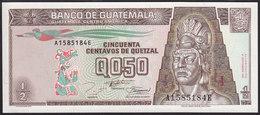 Guatemala 1/2 Quetzal 1994  P86b UNC - Guatemala