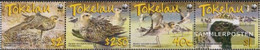 Tokelau 368-371 Quad Strip (complete Issue) Unmounted Mint / Never Hinged 2007 Pacific Golden Plover - Tokelau