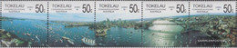 Tokelau 148-152 Five Strips (complete Issue) Unmounted Mint / Never Hinged 1988 Stamp Exhibition - Tokelau