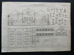 ANNALES DES PONTS Et CHAUSSEES - Les Tramways Aux états-unis - Gravé Par Macquet 1896 (CLD36) - Travaux Publics