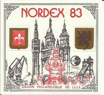 FRANCE - 1983 - FEUILLET SOUVENIR CNEP - NORDEX 83 - SALON PHILATÉLIQUE DE LILLE - NEUF** - CNEP