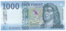 Hungary 1000 Forint 2017 Pnew UNC - Hungary