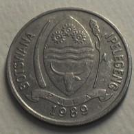 1989 - Botswana - 1 THEBE - KM 5 - Botswana
