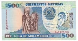Mozambique 500 Meticais 1991 UNC .C4. - Mozambico