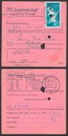 Postanweisung DDR 1408 40 Pfg. Wasserball Spatelstempel (18) Pasewalk Krugsdorf, Olympische Sommerspiele Mexiko - [6] Democratic Republic