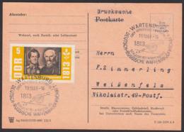 Wartenburg über Luthrstadt Wittenberg Deutsch-russische Waffenbrüderschaft 1813 1963, Blücher Und Gneisenau, Drucksache - [6] Oost-Duitsland