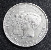 ALBERT I  10 FRANK OF TWEE BELGA  1830 - 1930     2 SCANS - 1909-1934: Albert I