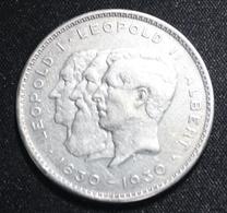 ALBERT I  10 FRANCS OU DEUX BELGAS  1830 - 1930     2 SCANS - 1909-1934: Albert I