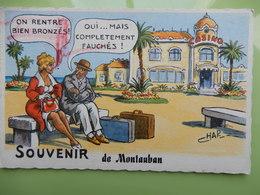 Souvenir De Montauban - Montauban