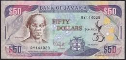 Jamaica 50 Dollar 2012 P89 UNC - Jamaica