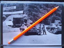 FOTOGRAFIA  CARRI ITALIANI  Della 2° Guerra - Automobiles