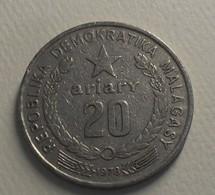 1978 - Madagascar, Democratic Republic - 20 ARIARY, F.A.O., KM 14 - Madagascar