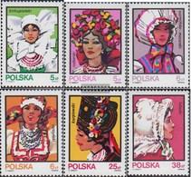Polonia 2891-2896 (completa Edizione) First Day Cover 1983 Costumi: Copricapo - FDC