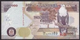 Zambia 5000 Kwacha 2011 P45g UNC - Zambia