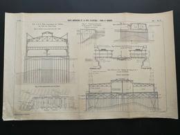 ANNALES DES PONTS Et CHAUSSEES - Ports Américains De La Cote Atlantique - Piers Et Hangars - A. Gentil 1914 (CLD37) - Travaux Publics